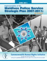Report - Maldives Police Service Strategic Plan
